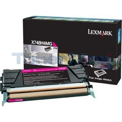 LEXMARK X748 RP PRINT CART MAGENTA 10K TAA